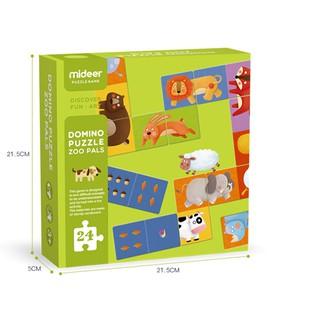 Domino Puzzle Zoo Pals_Cờ Domino_Animal Domino_Đồ chơi ghép hình