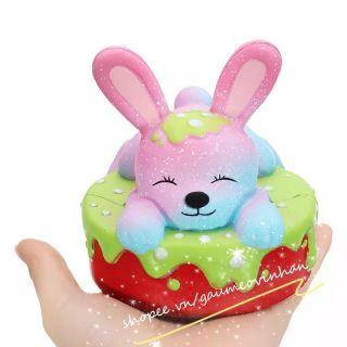 Squishy Bánh Kem Thỏ Bunny chính hãng Oriker