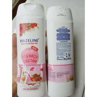 (300g)Sữa tắm sáng da Hazeline Matcha lựu đỏ thumbnail