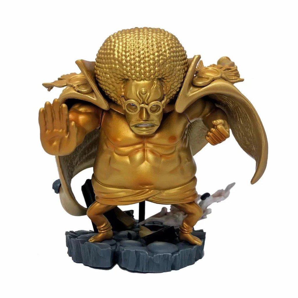 One Piece WCF Buddha Warring States GK G5 Golden Warring States Golden Buddha Warring States Zhizhi Boxed Action Figures