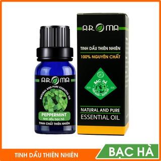 Tinh dầu Bạc hà AROMA, tinh dầu thơm phòng thiên nhiên nguyên chất thumbnail