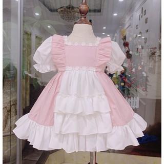 Đầm công chúa Lolita bé gái -FREESHIP + TẶNG TURBAN Su Shop -Váy thiết kế trẻ em - LOLITA Hồng thumbnail