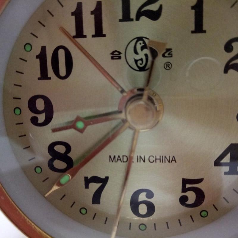 Đồng Hồ Báo Thức 7cm Phong Cách Vintage Chất Lượng Cao