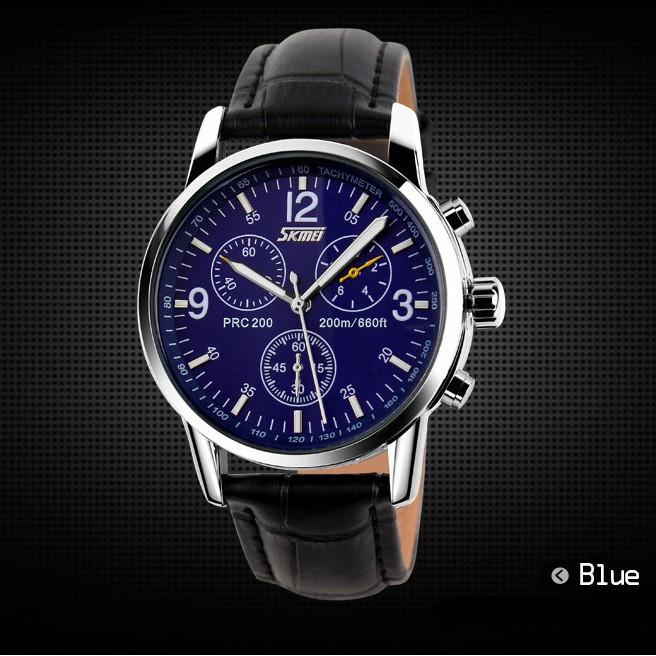 Đồng hồ nam SKMEI chính hãng cao cấp dây thép không gỉ chống nước siêu bền SKM070 - 365.store