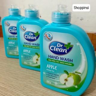 Nước rửa tay/sữa rửa tay Dr.clean 200g