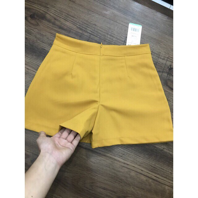 FREESHIPQuần giả váy hàng đẹp- 2 MÀU ĐEN_VÀNG - Hàng xưởng giá bao rẻ