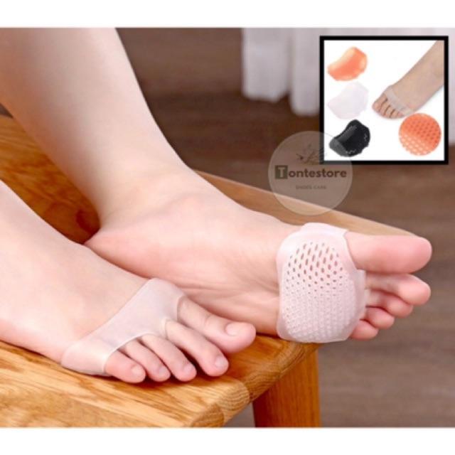1 cặp đệm xỏ lót bàn chân trước SILICON bảo vệ, chống mỏi mũi chân - phụ kiện giày cao gót (LOTCG01)
