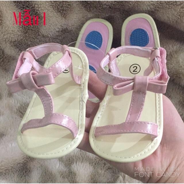 Sandal tập đi cho bé 0-18