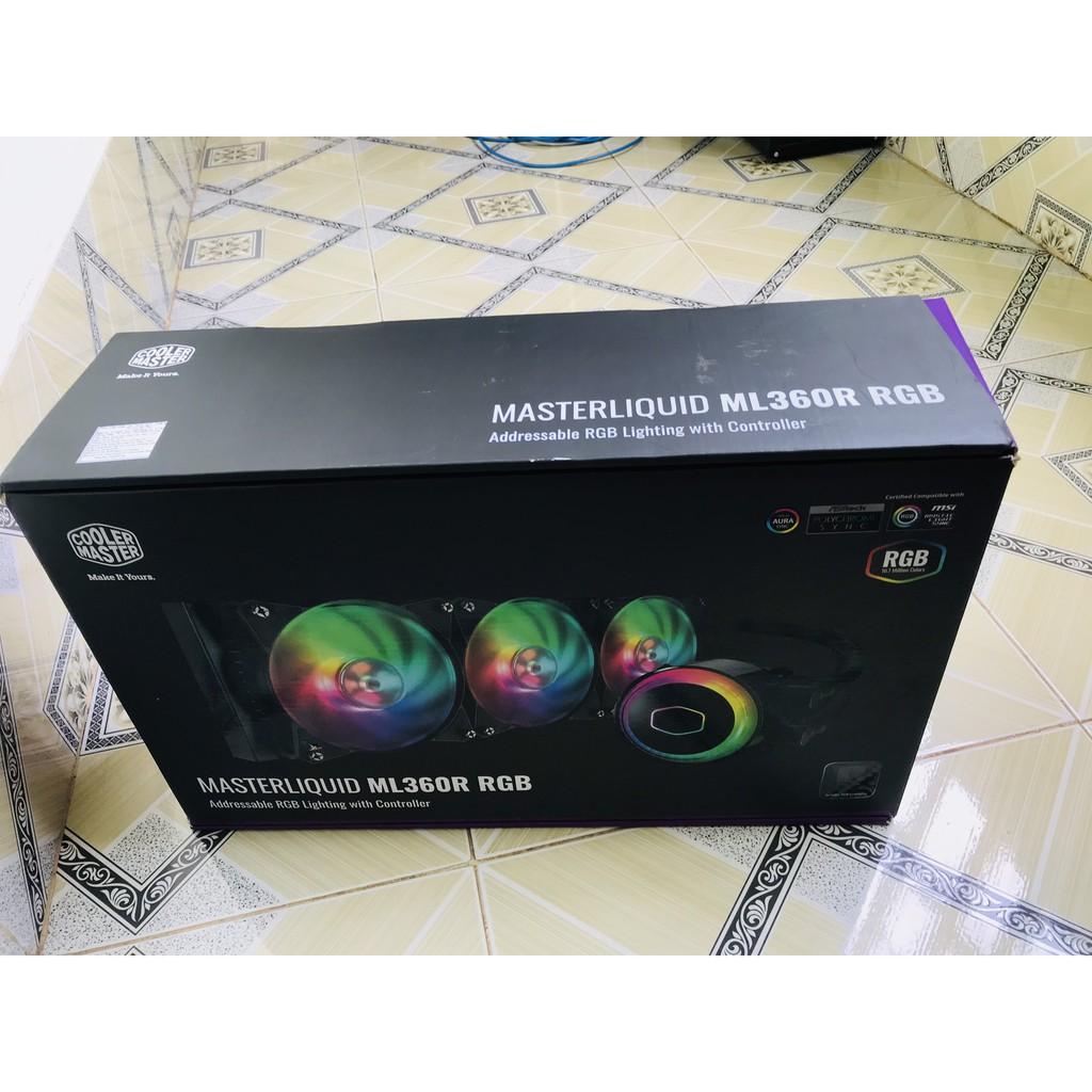 Tản nhiệt nước Cooler Master MasterLiquid ML360R  LED RGB