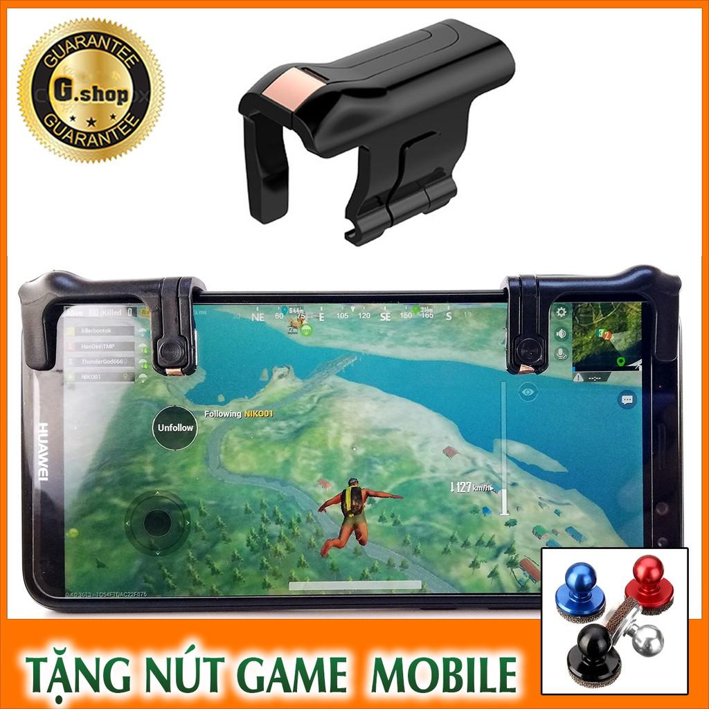 Bộ 2 nút chơi game Pubg Mobile cực HOT + Tặng free nút game Joystick 2 in 1