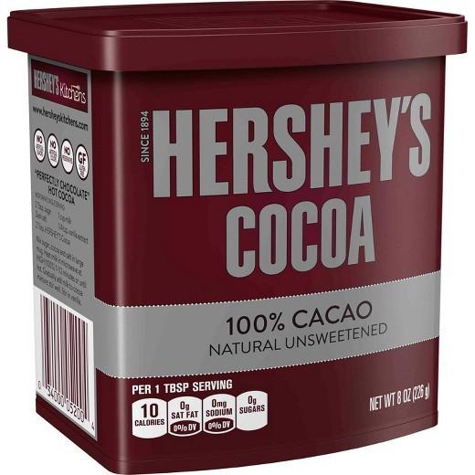 Bột Cacao Hershey Cocoa Nguyên Chất 100% Từ Mỹ 226g