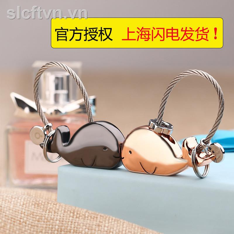 Móc chìa khóa họa tiết hoạt hình dễ thương cho nữ