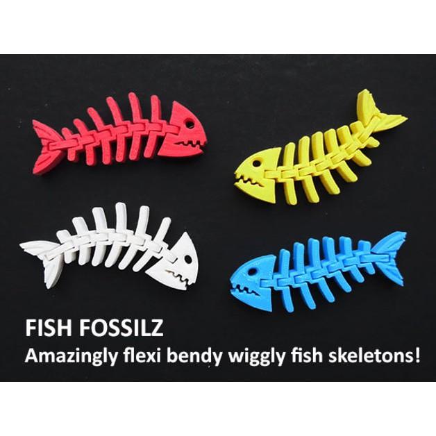 Mô hình in 3D - Xương cá linh hoạt