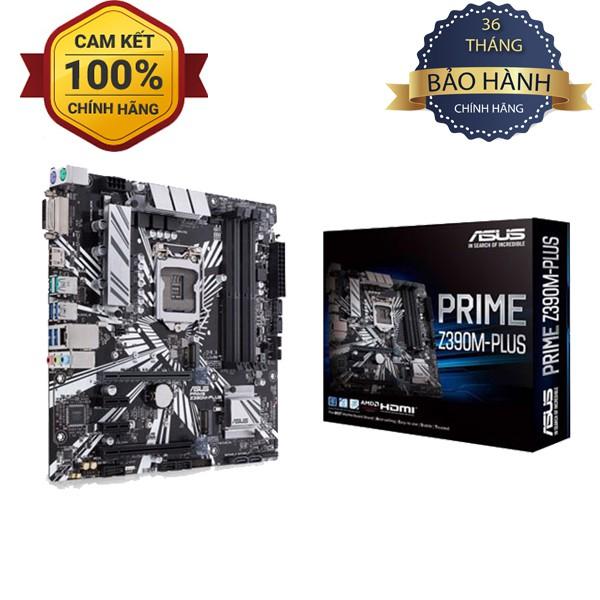 Bo mạch chủ Asus Prime Z390M PLUS Chĩnh hãng giá rẻ bằng B365