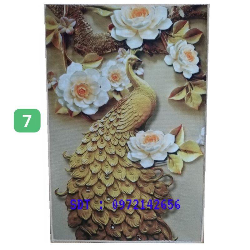 Thảm Lau Chân Bali Chống Trơn 1 Tấm 40x60cm