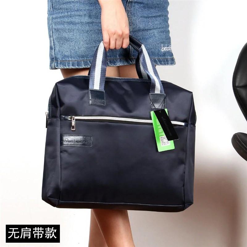 ธุรกิจแฟชั่นกระเป๋าถือสำนักงานถุงกระดาษไฟล์แพคเกจถุงกันน้ำความจุขนาดใหญ่ข้อมูลกร