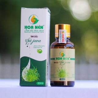 Tinh dầu Sả Java NGUYÊN CHẤT Hoa Nén 30ml_Tinh dầu xông phòng đuỗi muỗi, giữ ấm hiệu quả