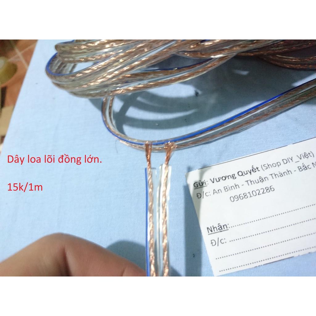 Dây loa lõi đồng - 9994749 , 955820514 , 322_955820514 , 15000 , Day-loa-loi-dong-322_955820514 , shopee.vn , Dây loa lõi đồng