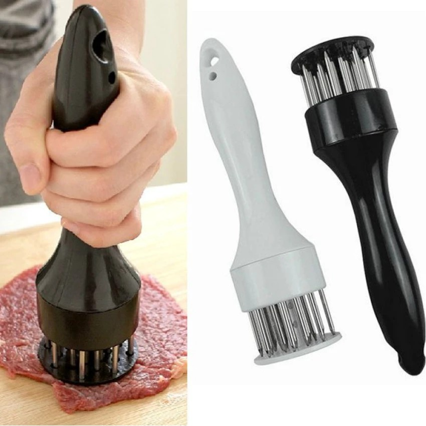 Dụng cụ làm mềm thịt Meat Tenderizer - Fourtech (Đen)