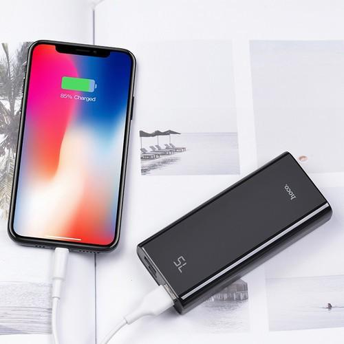Pin dự phòng HOCO J45 10000MAH 2 cổng sạc cho iPhone 11 12 6 7 8 Plus X Max Samsung Oppo IP nhỏ gọn sạc nhanh du lịch