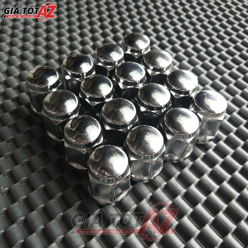 Bộ 16 Ốc(19mm) bắt lazang ô tô 12x1.5mm bằng thép mạ inox cao cấp - 3076570 , 835794094 , 322_835794094 , 286000 , Bo-16-Oc19mm-bat-lazang-o-to-12x1.5mm-bang-thep-ma-inox-cao-cap-322_835794094 , shopee.vn , Bộ 16 Ốc(19mm) bắt lazang ô tô 12x1.5mm bằng thép mạ inox cao cấp