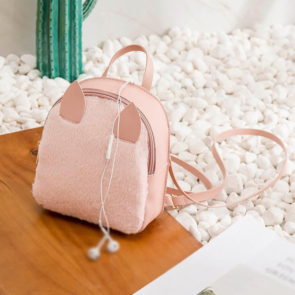 Túi đeo chéo đựng điện thoại hình sừng thỏ siêu dễ thương