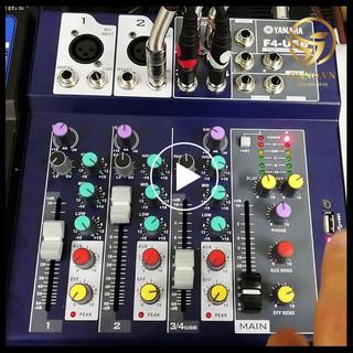Bộ Bàn Trộn Âm Thanh Mixer Yamaha F4 Karaoke Bộ Trộn Âm Mixer F4 Karaoke Livestream Thu Âm - OHNO Việt Nam thumbnail