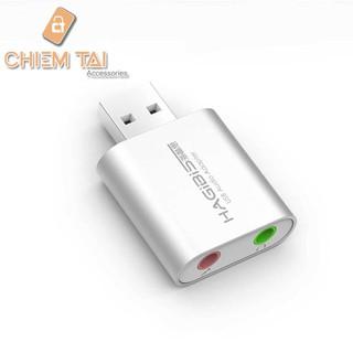 Đầu chuyển đổi âm thanh USB Hagibis MA11