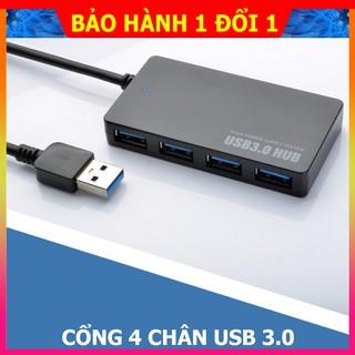 Cổng chia USB 2.0- 3.0 4 chân sử dụng cùng lúc nhiều thiết bị với tốc đọ truyền cực nhanh