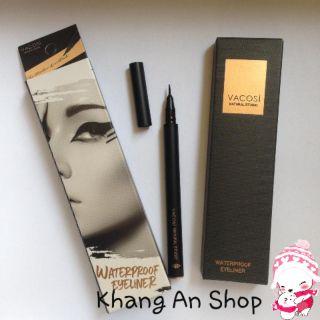 Kẻ mắt nước không trôi Vacosi Waterproof Pen Eyeliner 5ml (Đen) thumbnail