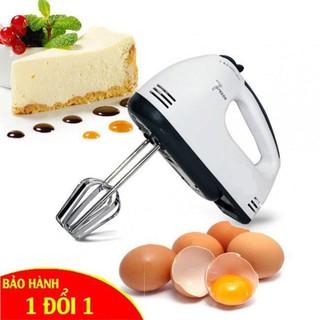 Máy Đánh Trứng Cầm Tay Mini Cao Cấp Với 7 Tốc Độ Cực Mạnh - Hoạt Động Êm Không Gây Tiếng Động Khó Chịu thumbnail