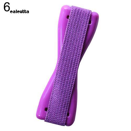 CAL_Universal Finger Phone Holder Plastic Sling Grip Anti Slip Stand for Tablet Cellphone