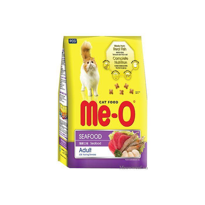 Thức ăn mèo dạng hạt khô cho mèo Lớn trưởng thành Me-o hải sản 350