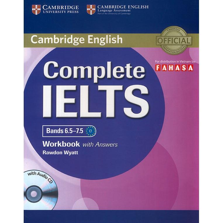 Sách - Complete IELTS bands 6.5-7.5 - Workbook