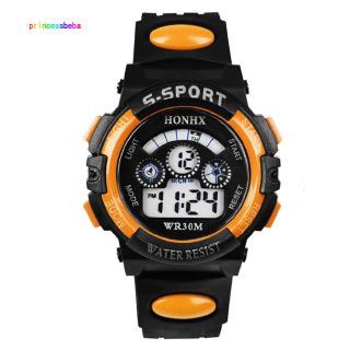 Đồng hồ đeo tay điện tử chống thấm nước đa năng dành cho bé trai
