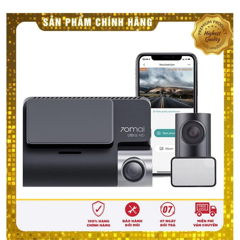 Camera hành trình 70mai Dash Cam A500s. Phiên bản quốc tế bảo hành 12 tháng.