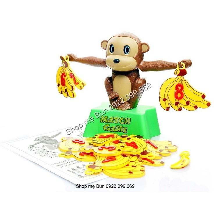 Khỉ thông minh học toán - MATCH GAME - Khỉ cầm chuối