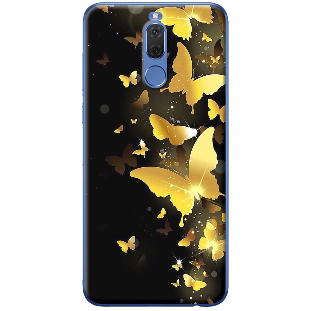 Ốp lưng nhựa dẻo Huawei Nova 2i Bướm vàng