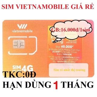 [ Hạn Dùng 1 Tháng ] Sim số Vietnamobile Tài Khoản Chính 0đ thumbnail