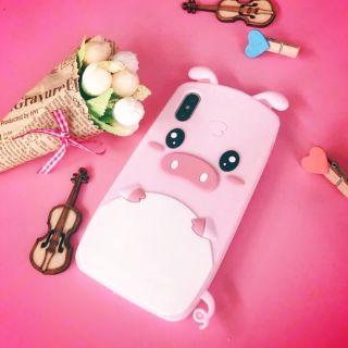Ốp điện thoại lợn hồng xinh xắn