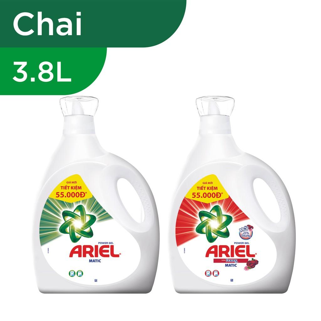 Ariel Matic nước giặt chai 3.8L