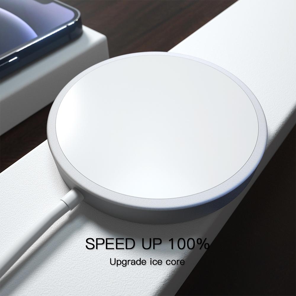 Đế Sạc Không Dây Nam Châm Đa Năng Cho Iphone 12 Huawei Xiaomi