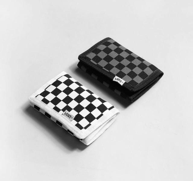 ví vans caro checker board có video