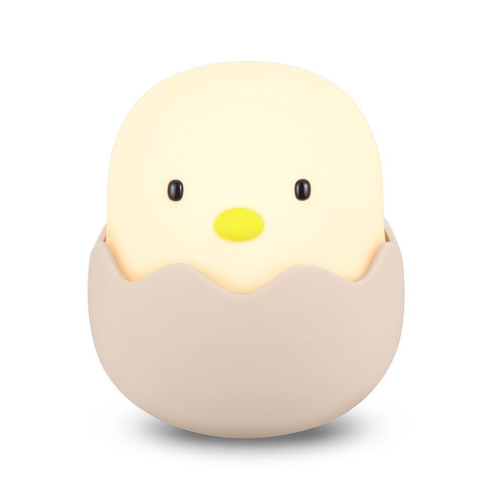 Đèn ngủ để bàn cảm ứng chạm hình trứng dễ thương cho bé