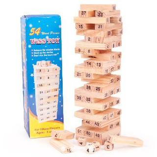 Đồ chơi rút gỗ 54 thanh Cỡ vừa shopgiarebatngo