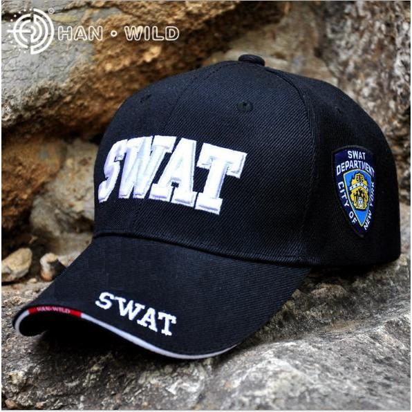 Mũ Lưỡi Trai SWAT - POLICE (Mũ Lính - Phượt)