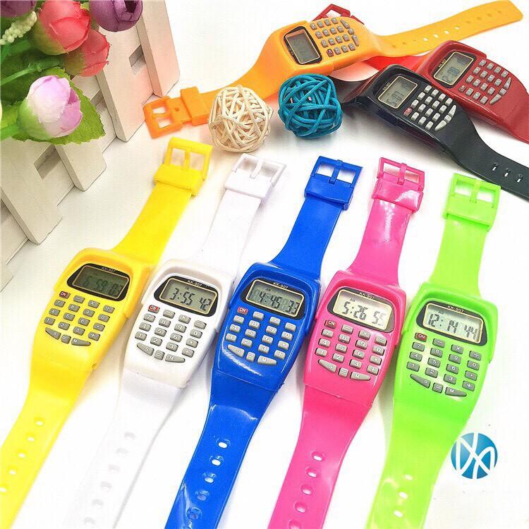Đồng hồ điện tử nam nữ Sports KK - 907 chức năng xem giờ & máy tính MS889