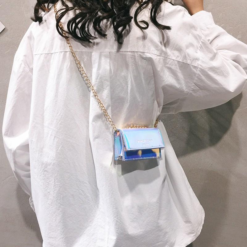 Túi xách nữ dáng vuông phong cách Hàn Quốc thời trang
