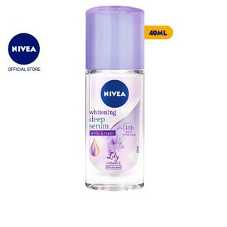 Lăn ngăn mùi Nivea serum trắng mịn hương hoa Lily (40ml) – 85310