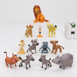 Mô Hình 12 Nhân Vật Phim Hoạt Hình Đội Cảnh Sư Tử- The Lion King